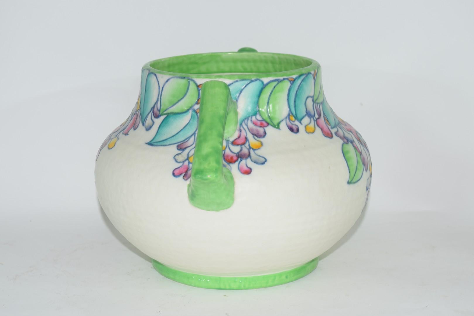 Charlotte Rhead vase pattern no 4954 - Image 2 of 6