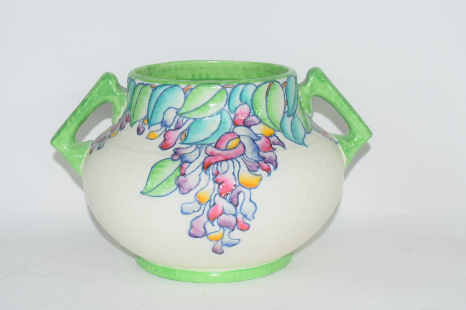 Charlotte Rhead vase pattern no 4954 - Image 3 of 6