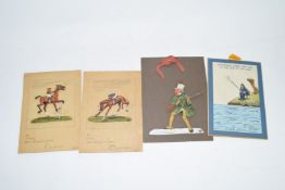 Quantity of 1930s birthday cards