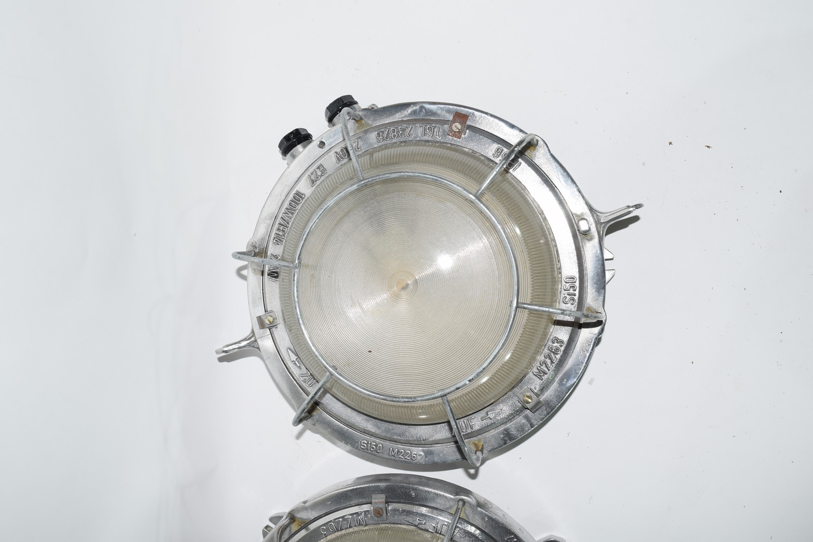 Pair of ship's lights - Image 2 of 6