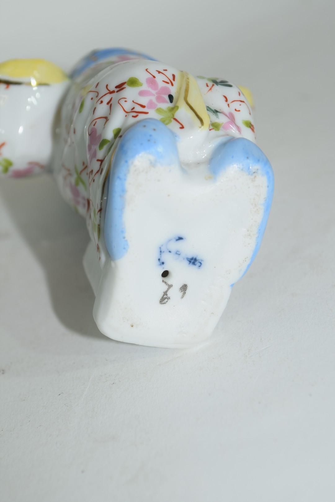 Continental porcelain model of a Chinaman - Image 10 of 10