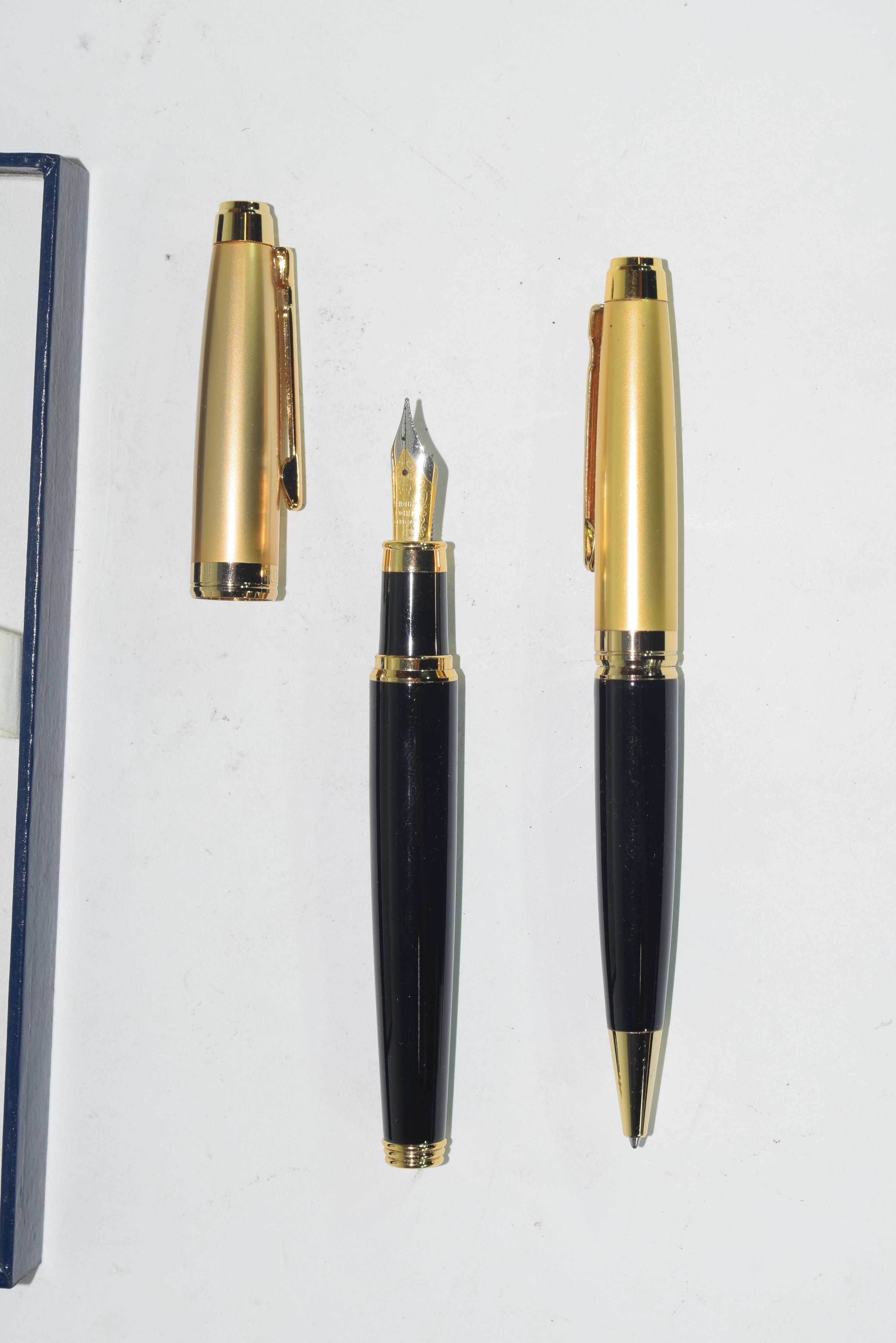Ronson fountain pen and pencil - Image 2 of 3