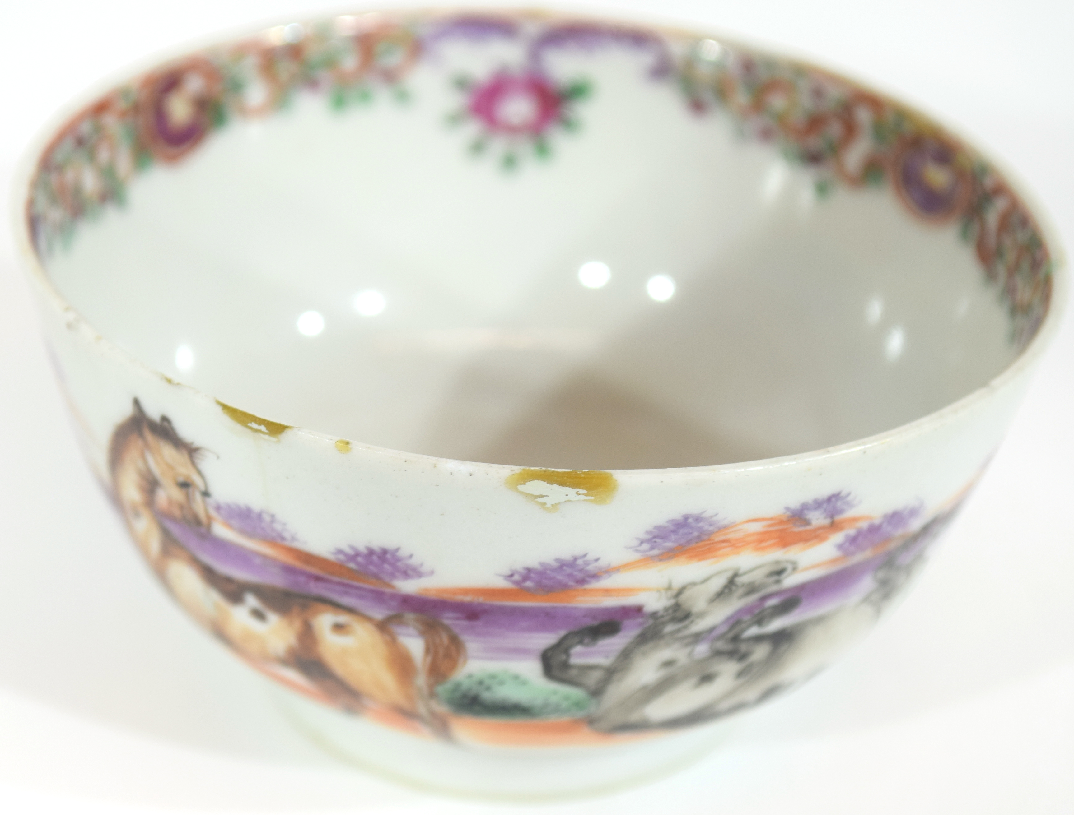Small Chinese bowl, 18th century - Image 11 of 13