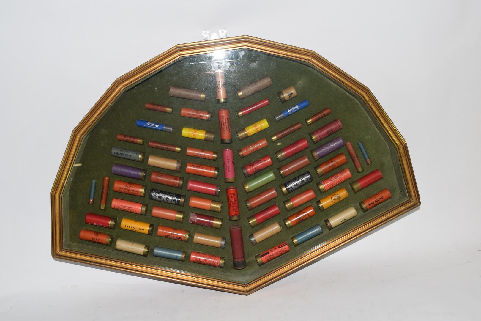 Cased collection of Shotgun Cartridges