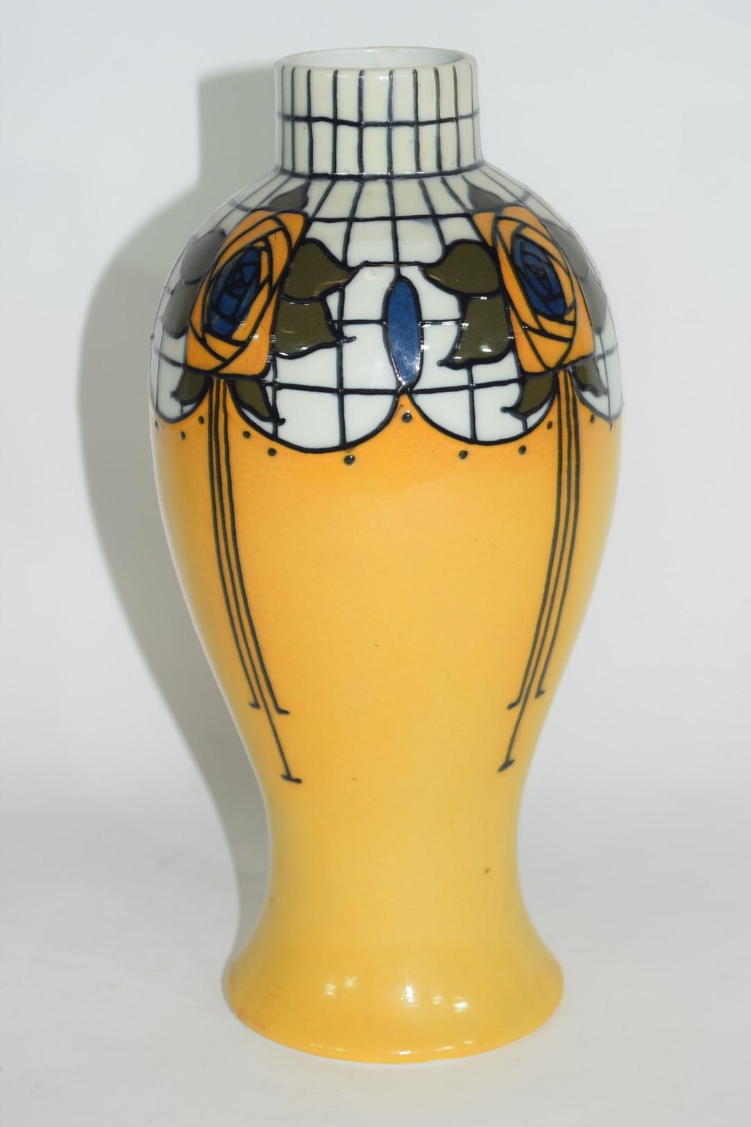 Wood & Sons Burslem vase by Frederick Rhead - Image 3 of 7