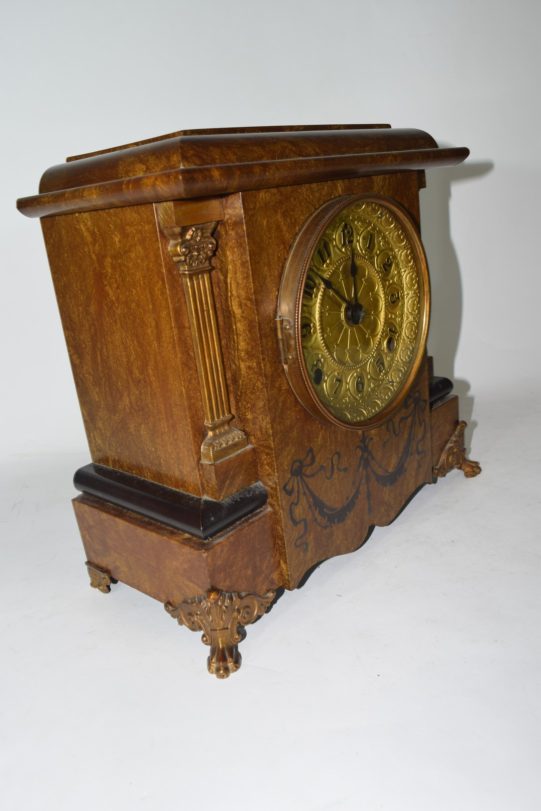 Early 20th century mantel clock - Image 2 of 3