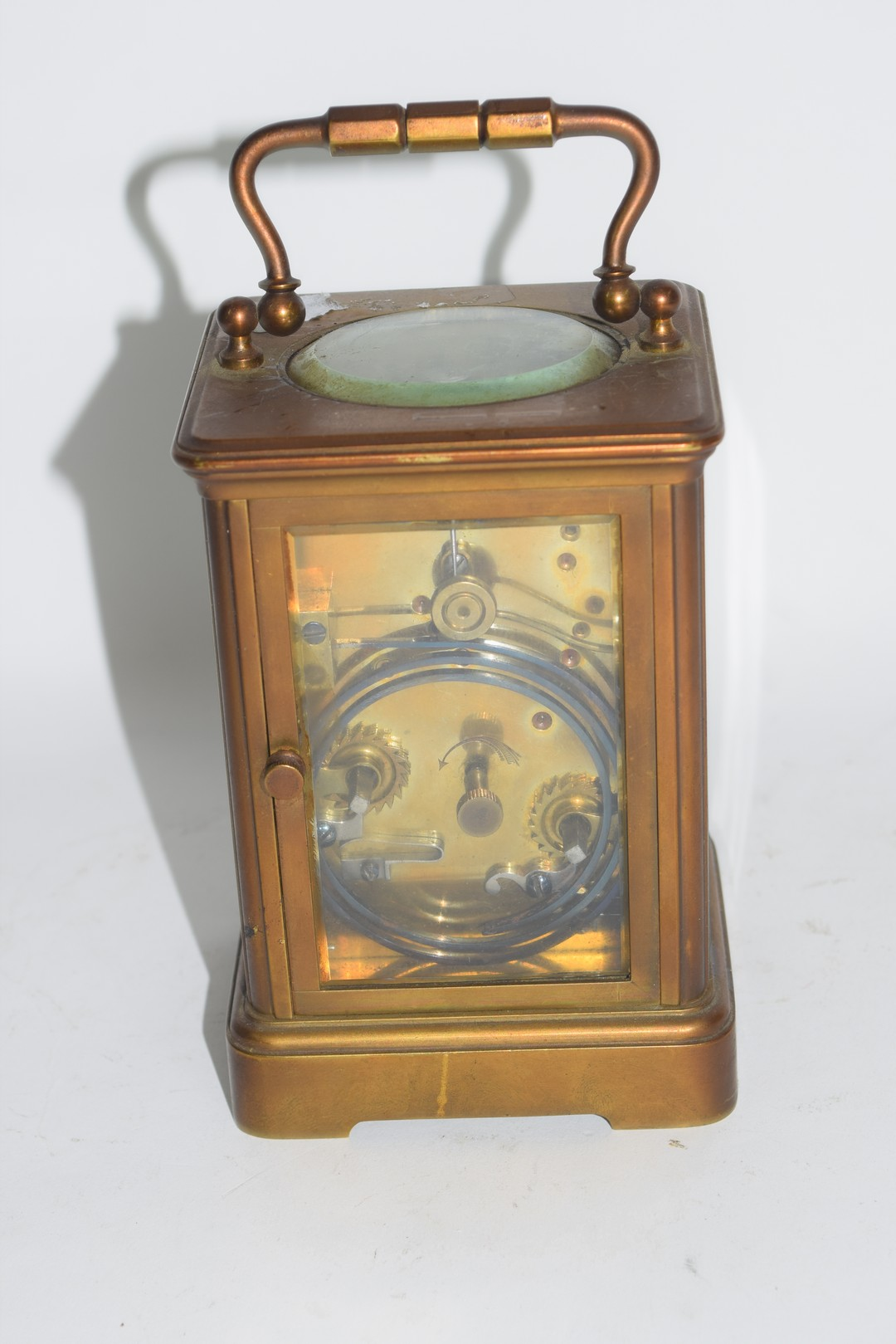 Brass carriage clock - Image 3 of 5