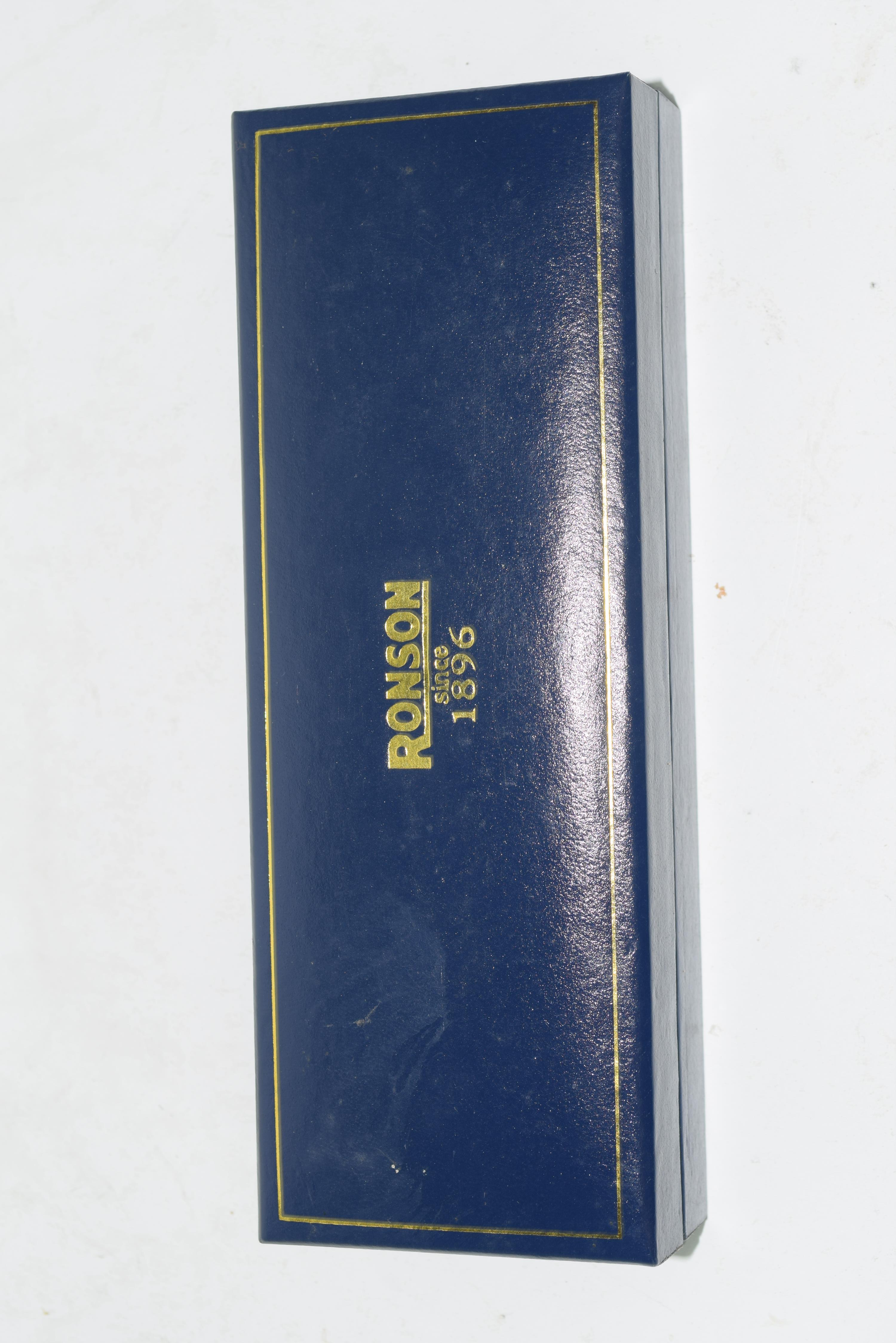 Ronson fountain pen and pencil