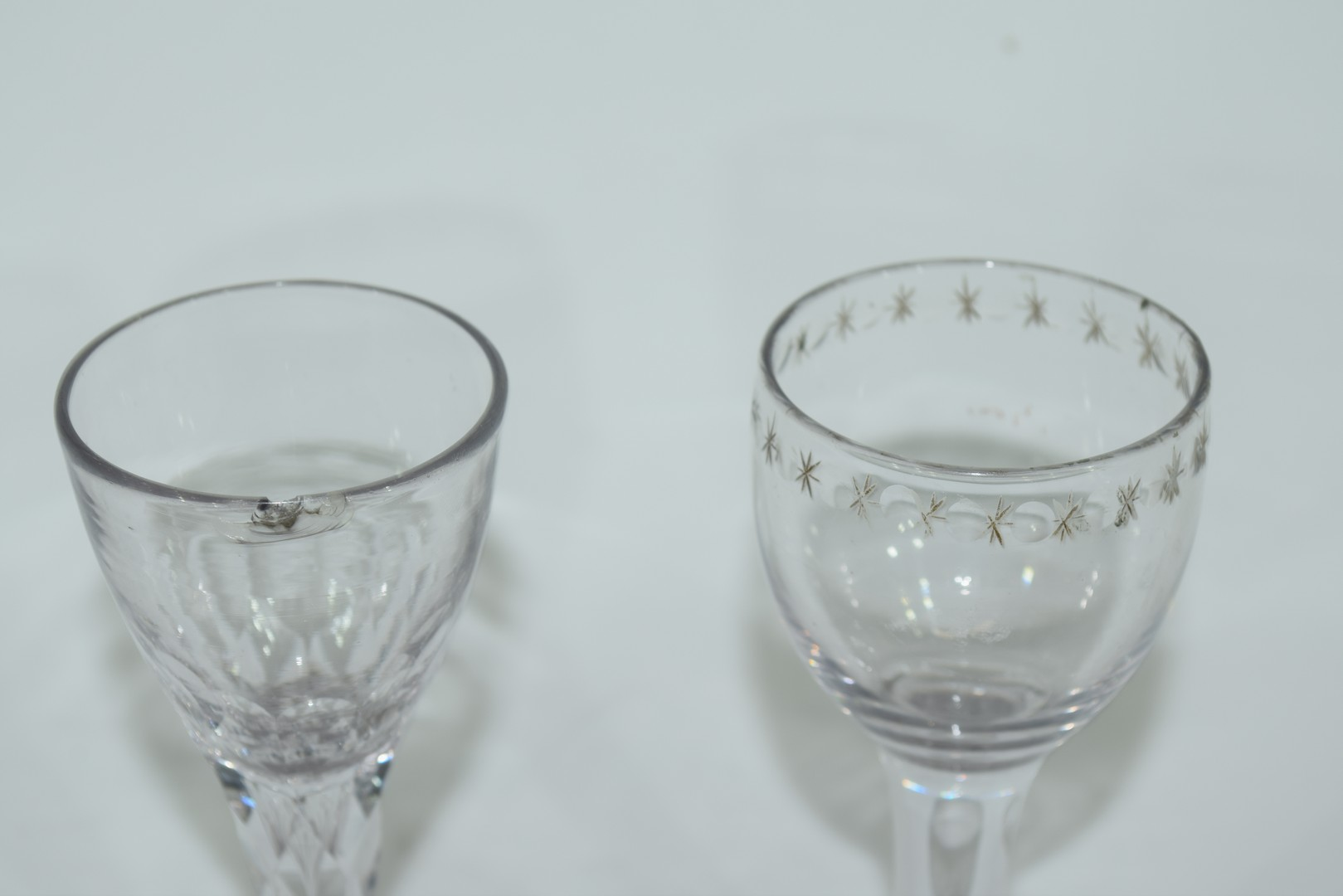 Two 18th century glasses - Image 6 of 6