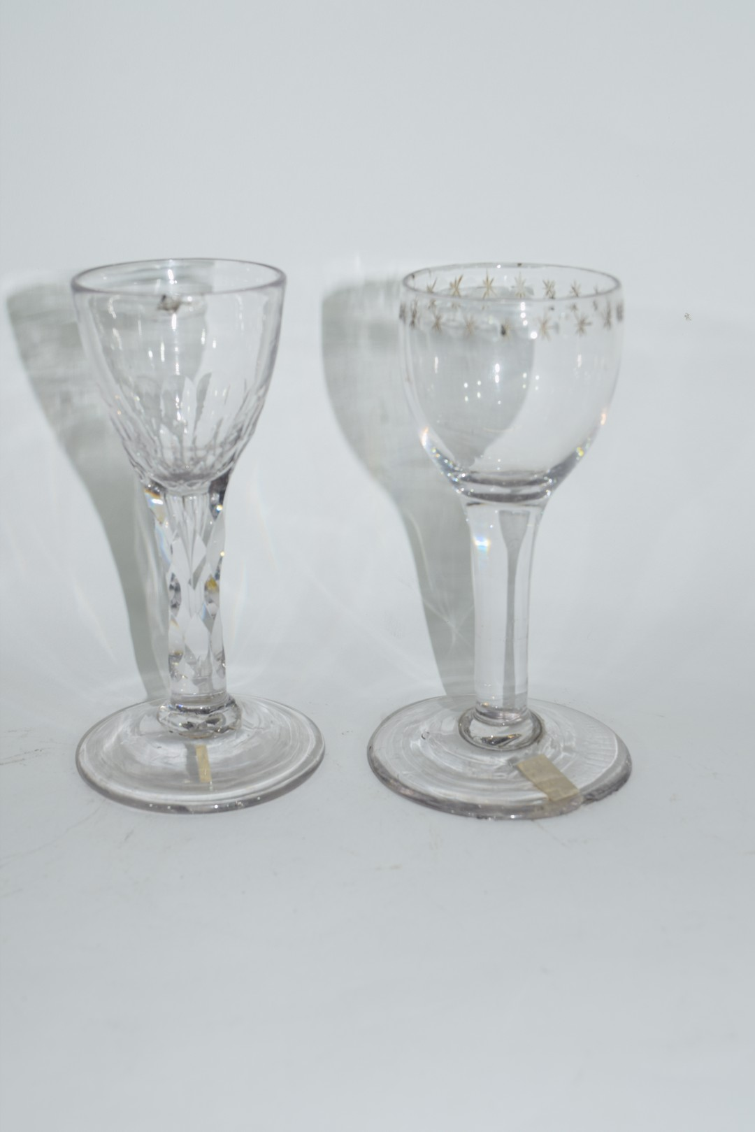 Two 18th century glasses - Image 4 of 6