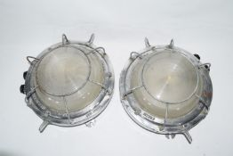 Pair of ship's lights