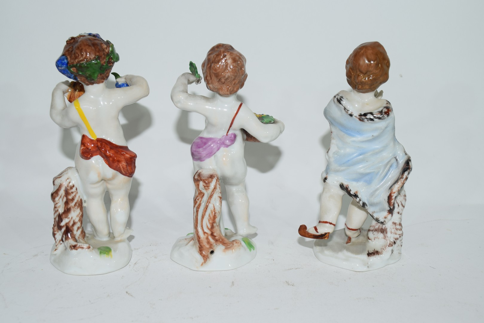 Group of Naples porcelain figures - Image 7 of 7