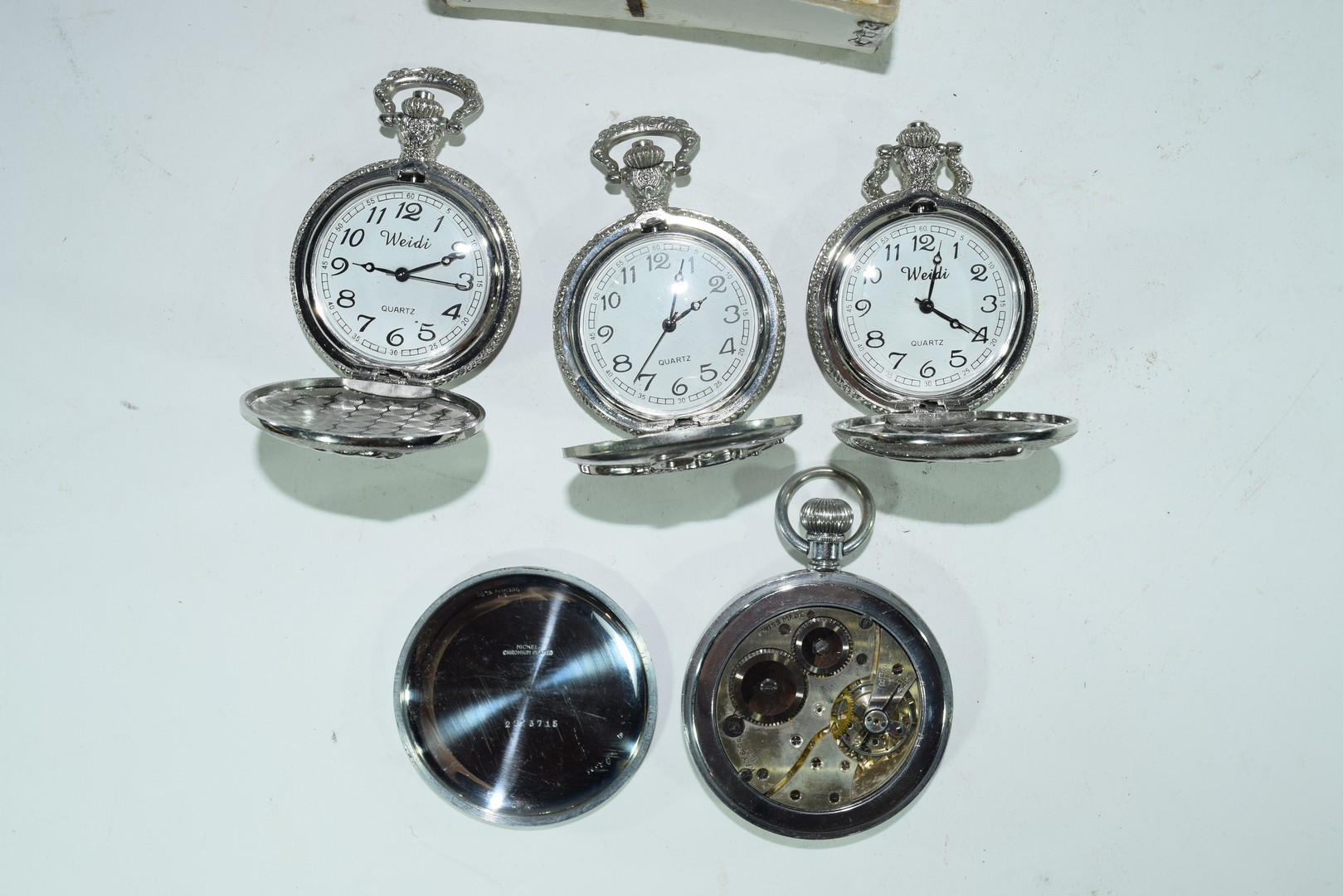 Cays screwback lever pocket watch - Image 4 of 4