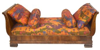 Late 19th century Continental side chair or chaise longue