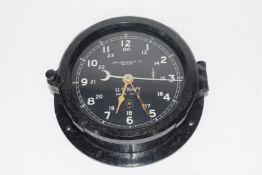 US Navy issue clock