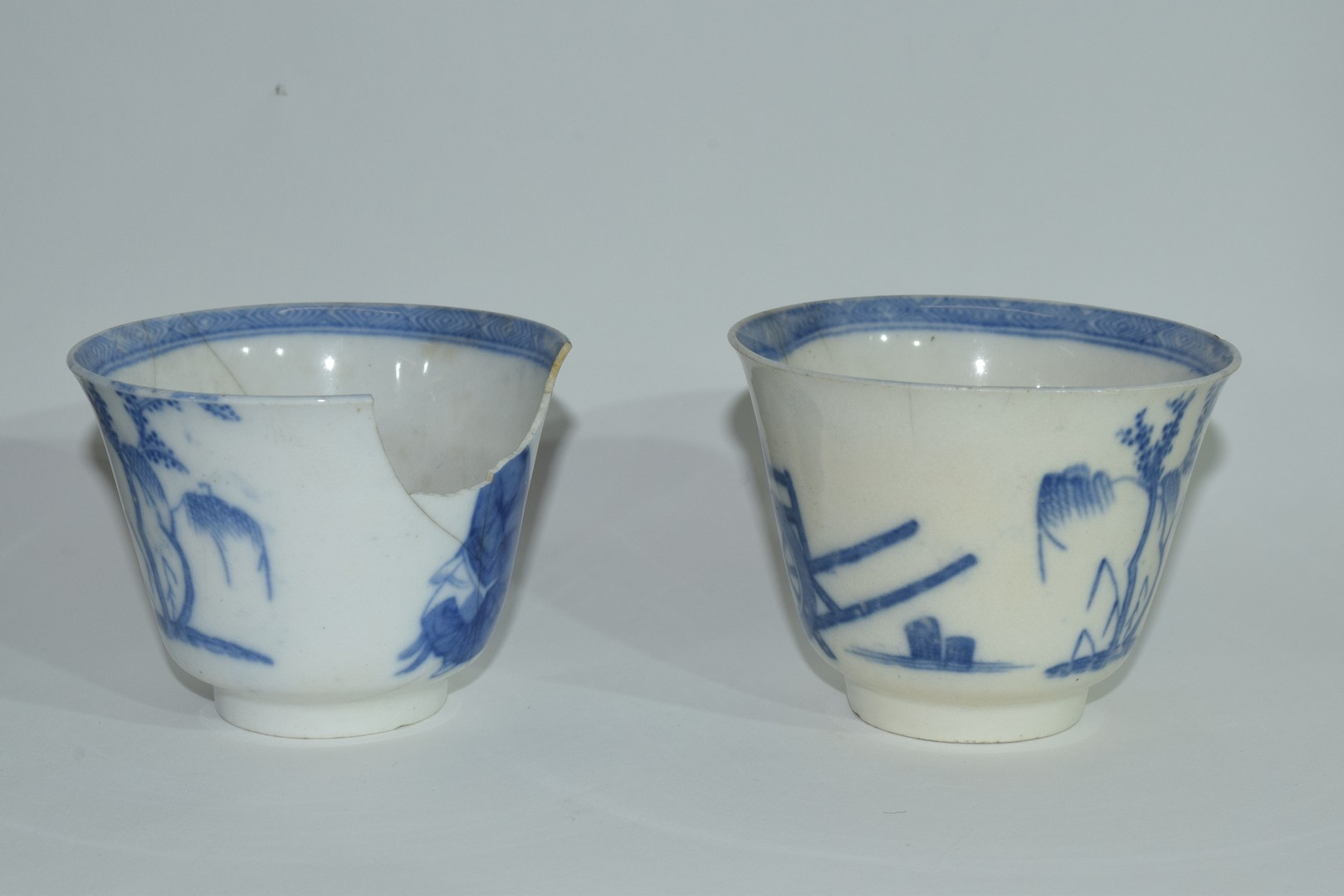 Group of Chinese export porcelain plates - Image 4 of 15