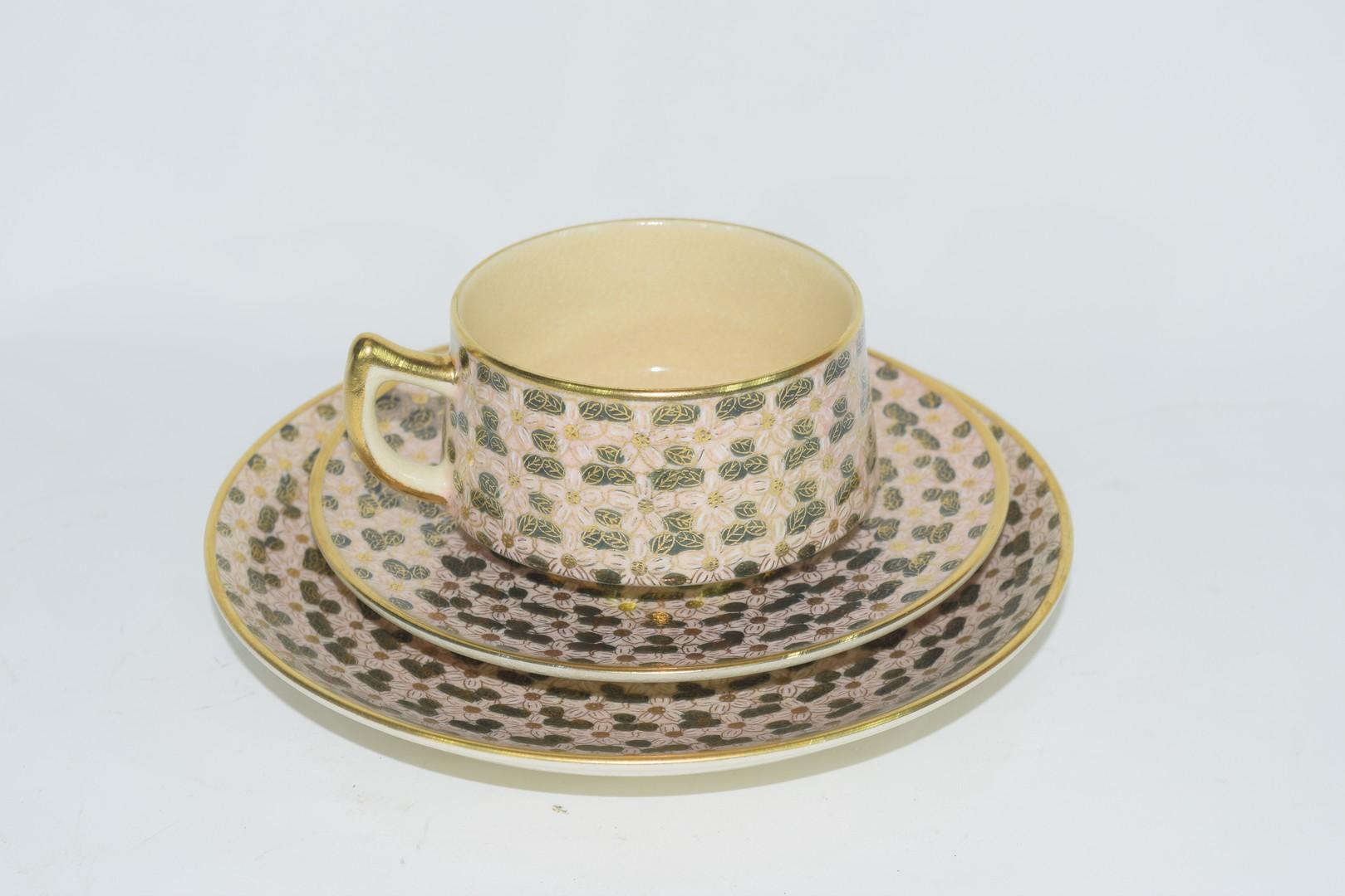 Twelve piece Satsuma tea set - Image 2 of 7