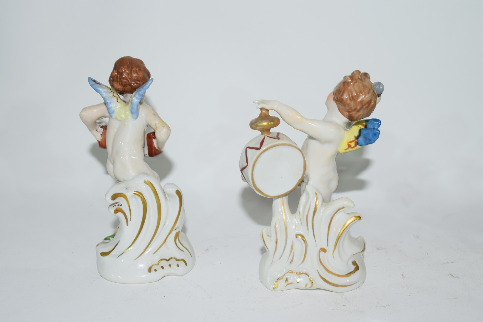 Group of Naples porcelain figures - Image 3 of 7