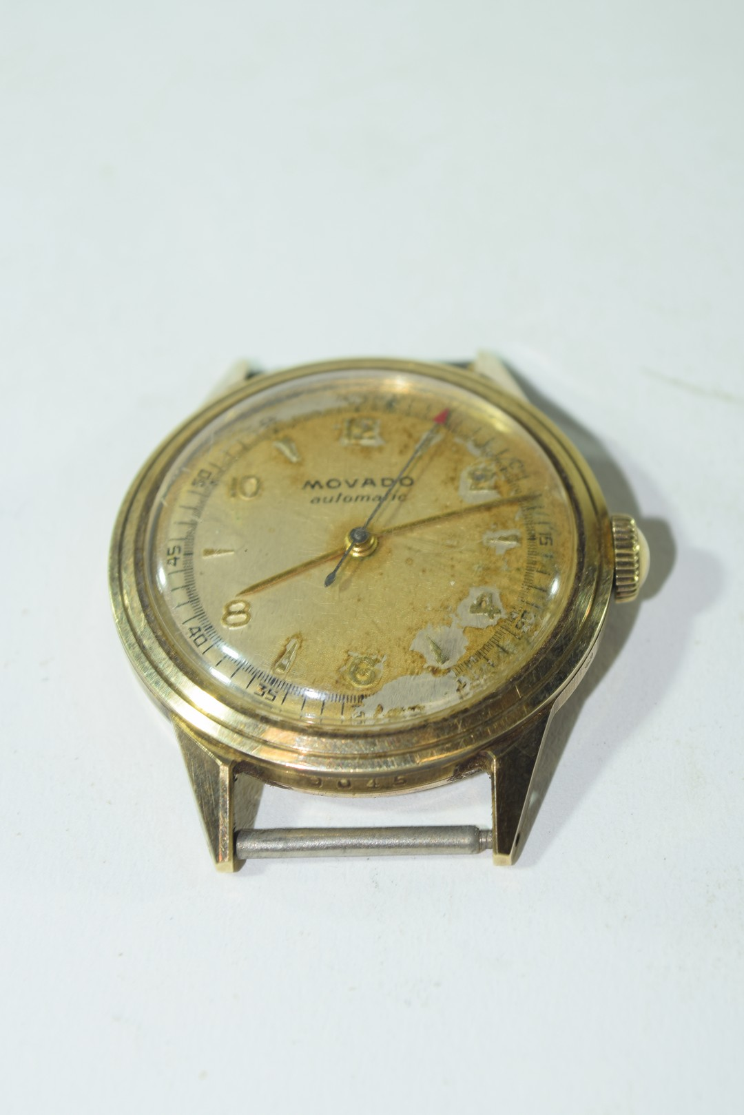 Movado gents yellow metal automatic wrist watch - Image 2 of 4