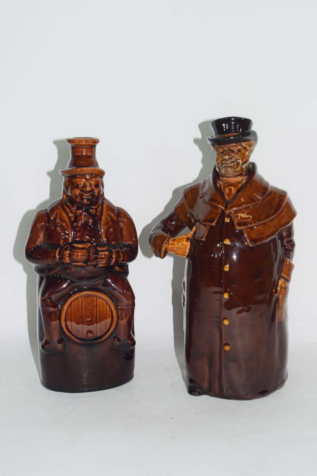 Royal Doulton Kingsware flask