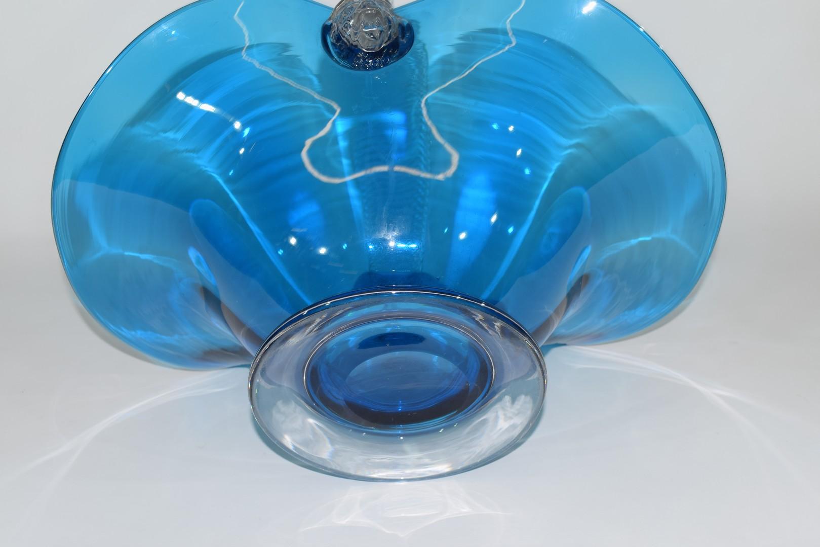 Large glass basket - Image 7 of 7