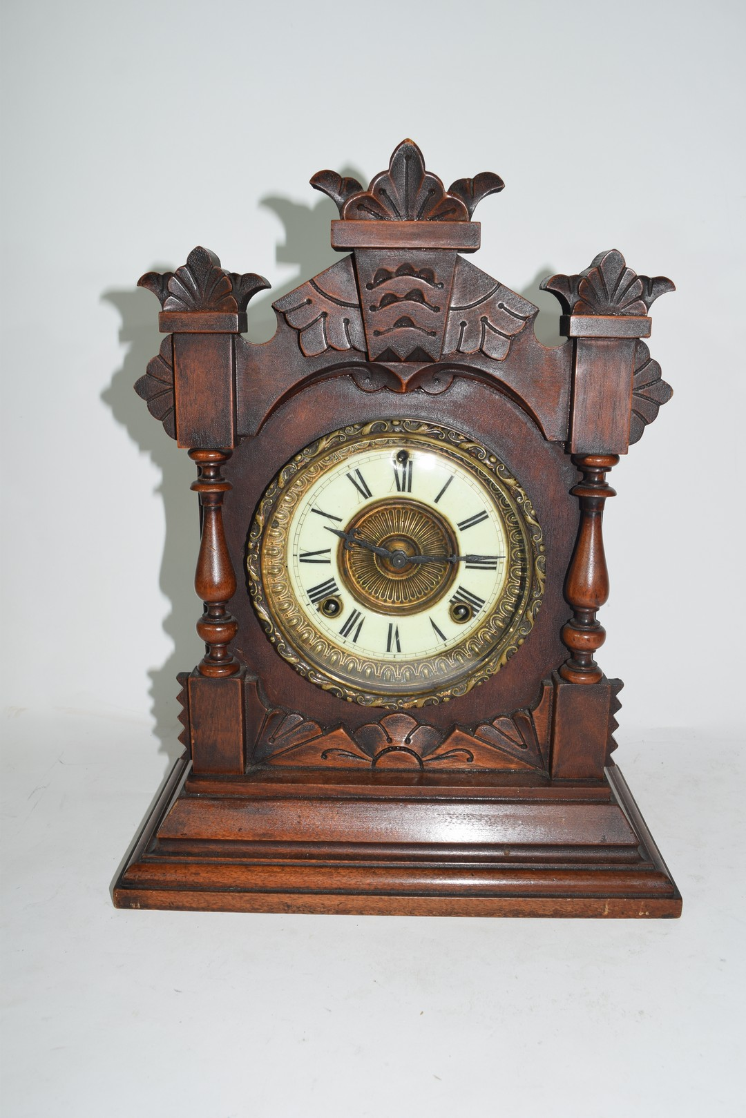 Late 19th century mantel clock by Ansona of New York