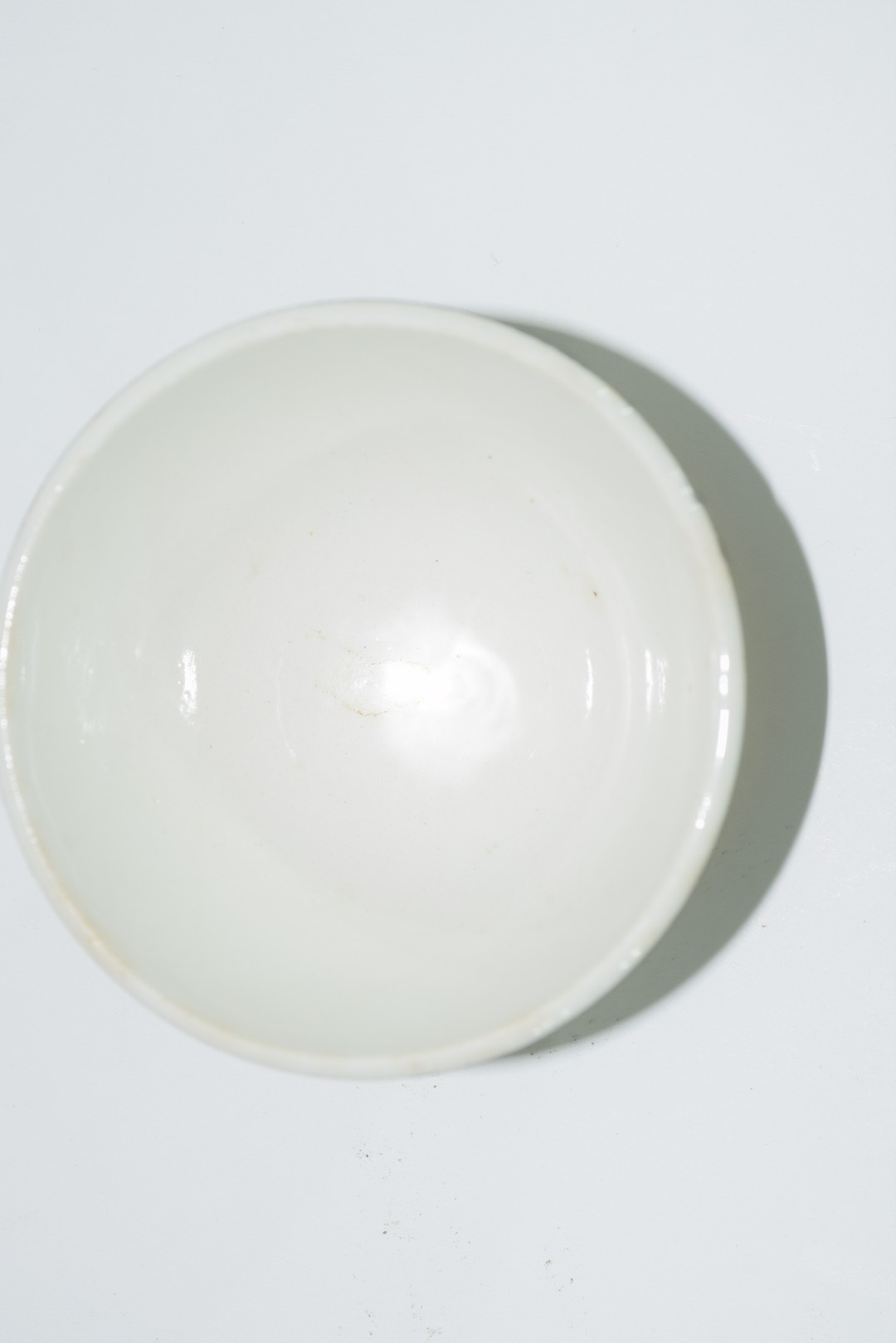 Small bowl decorated in black and white with a design by Fornisetti, - Image 5 of 5