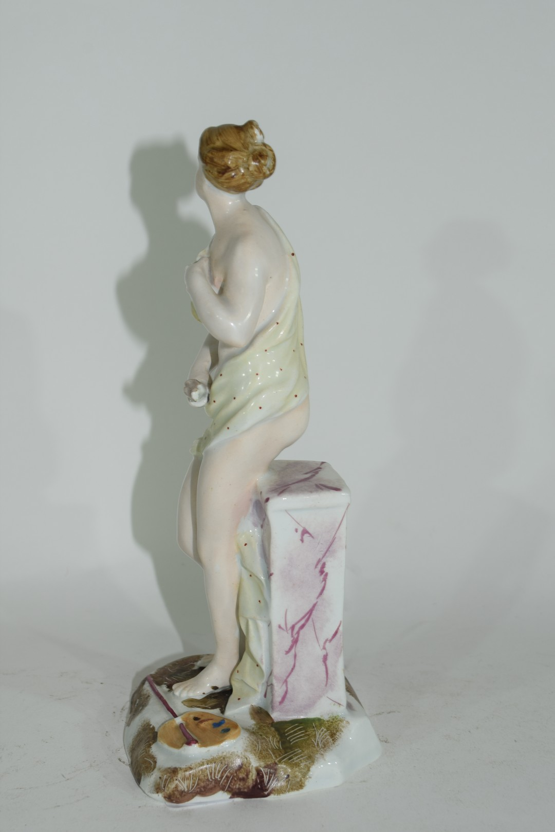 Continental porcelain figure of a classical lady - Image 2 of 5