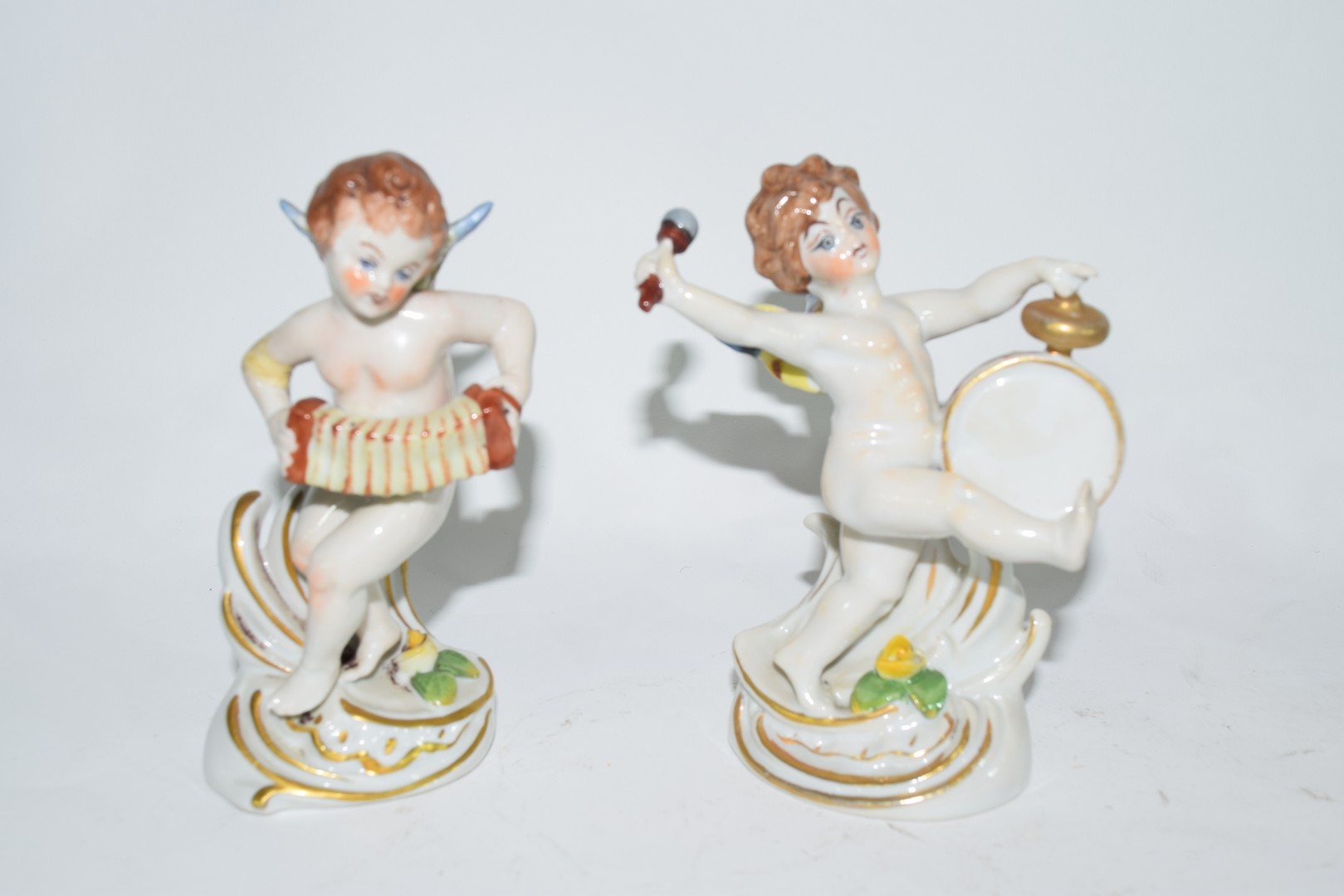 Group of Naples porcelain figures - Image 2 of 7