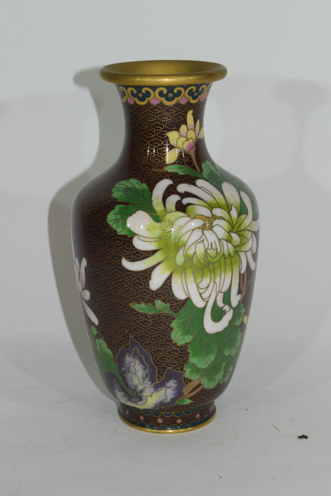 Cloisonne vase - Image 4 of 6
