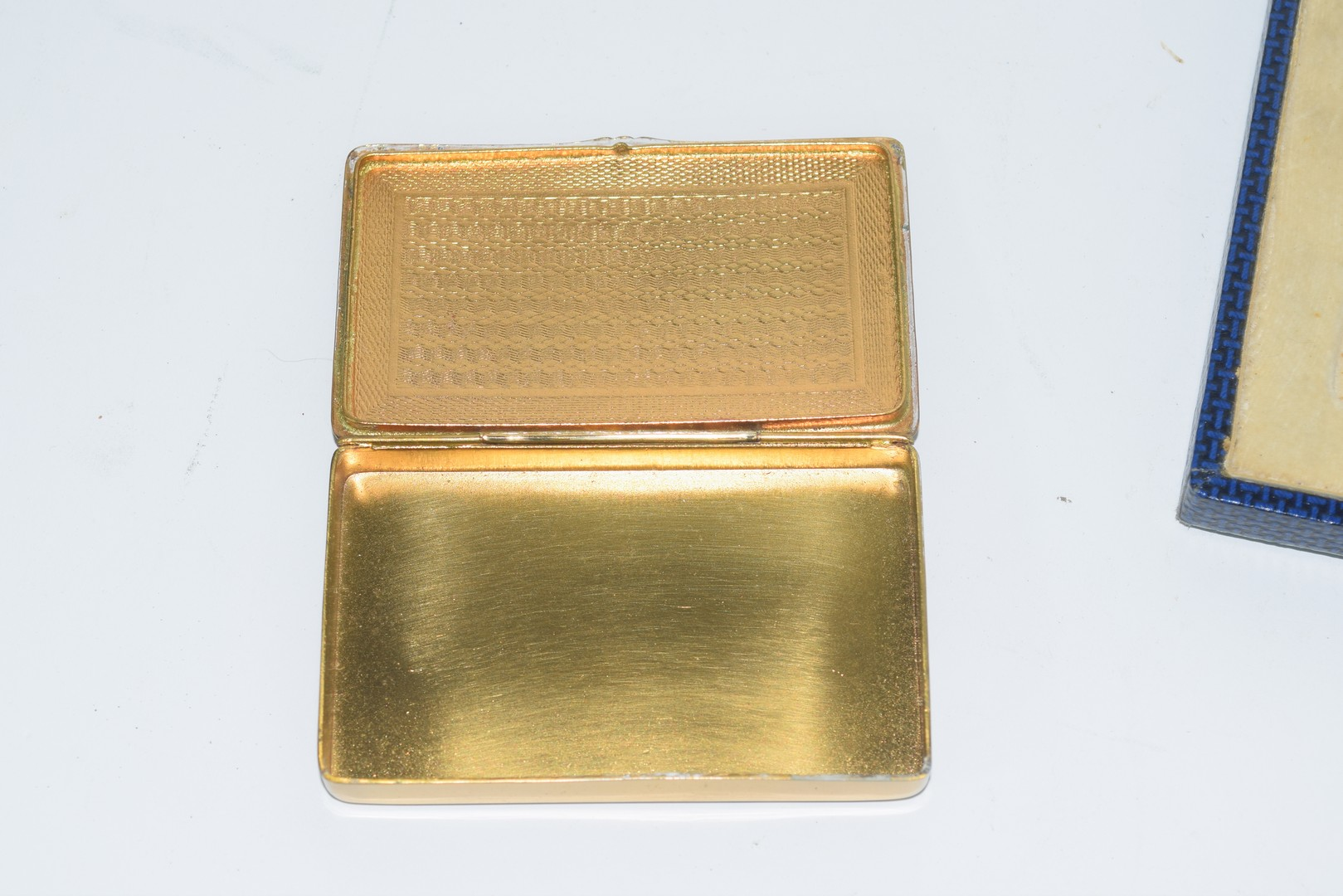 Boxed set of two gilt boxes - Image 3 of 4