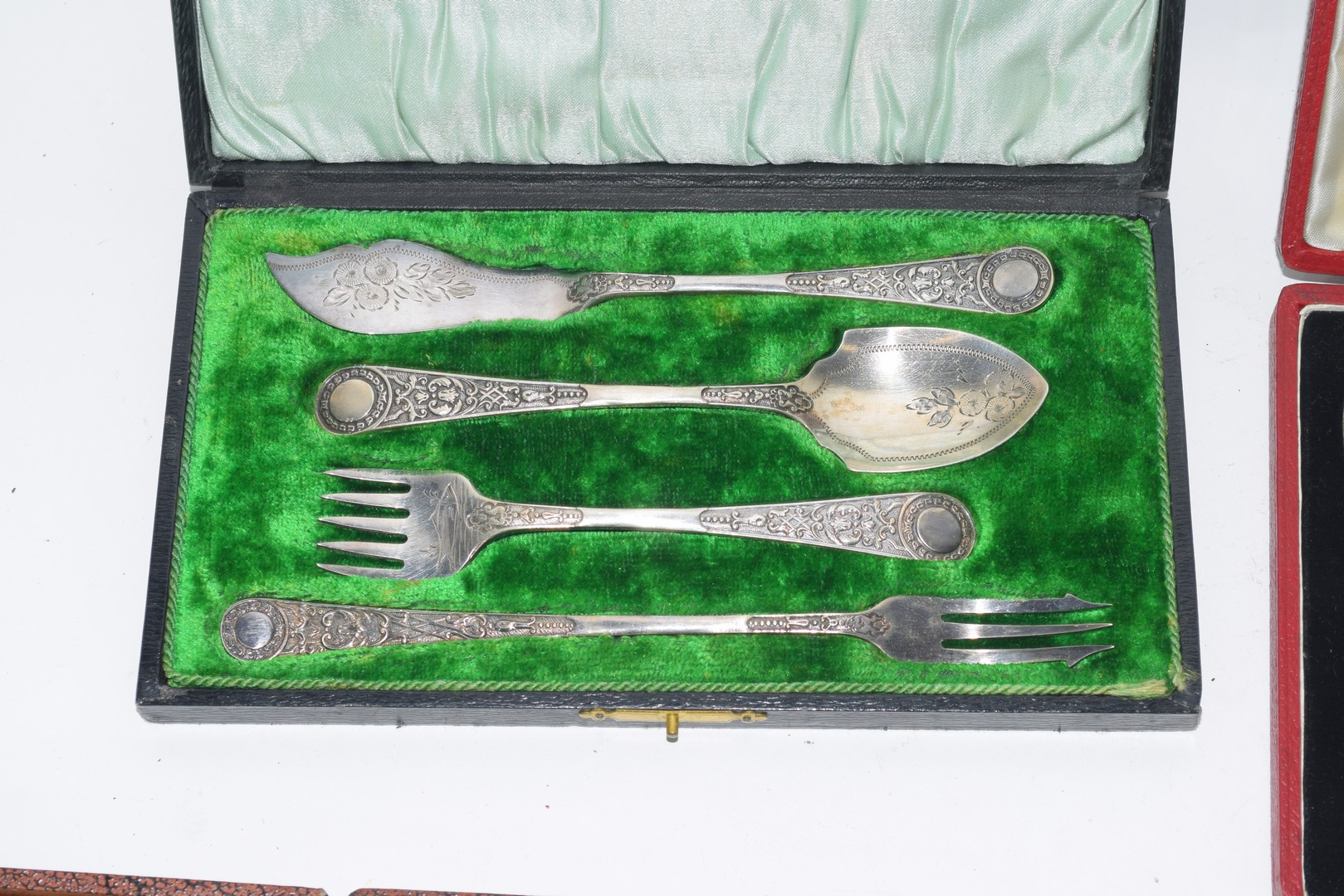 Quantity of silver plated cutlery - Image 2 of 6