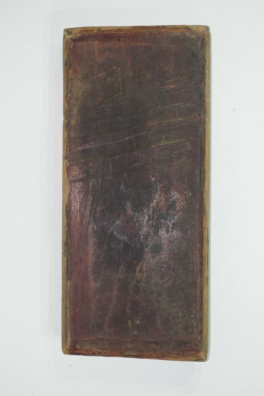 Group of seven Oriental wooden panels - Image 7 of 16