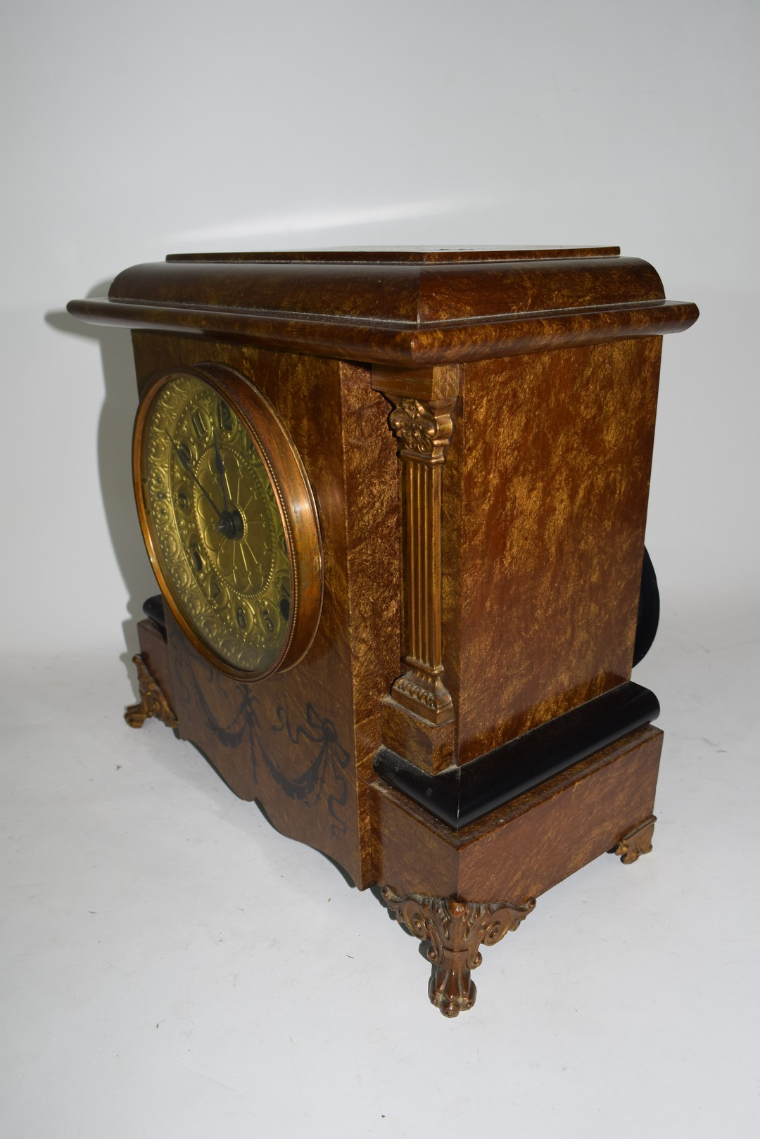 Early 20th century mantel clock - Image 3 of 3