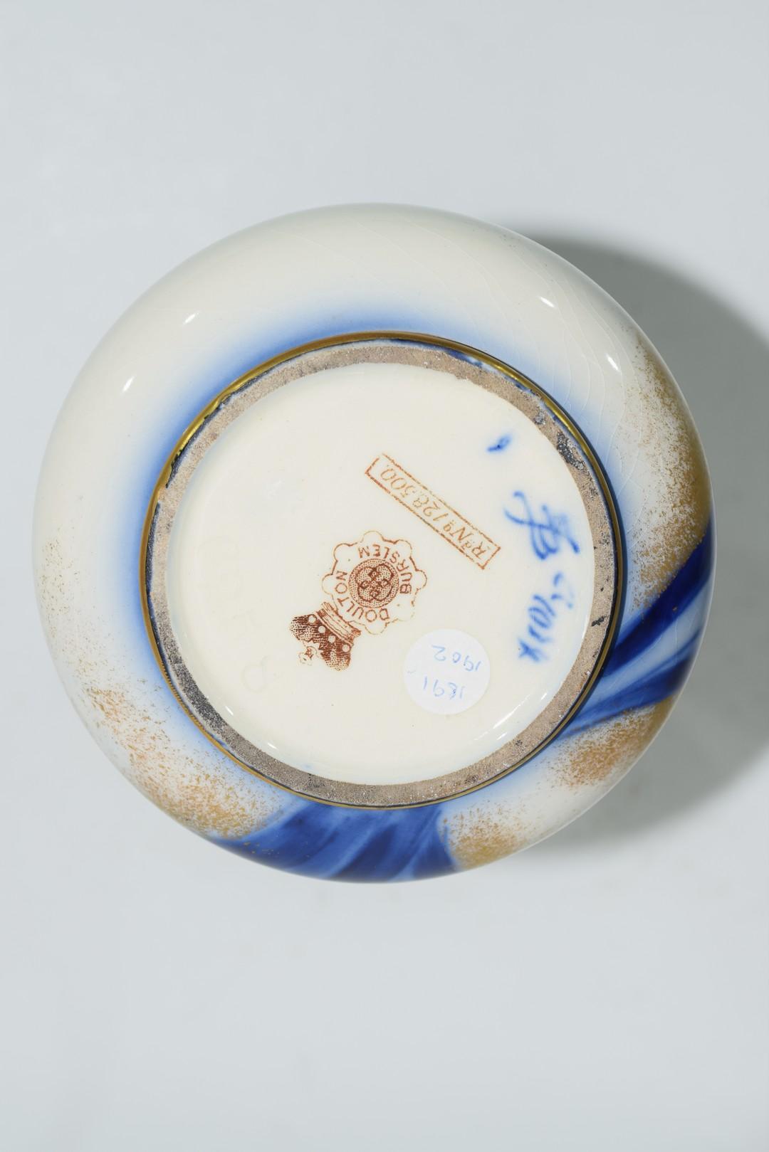 Late 19th century Doulton Burslem ware vase - Image 6 of 6