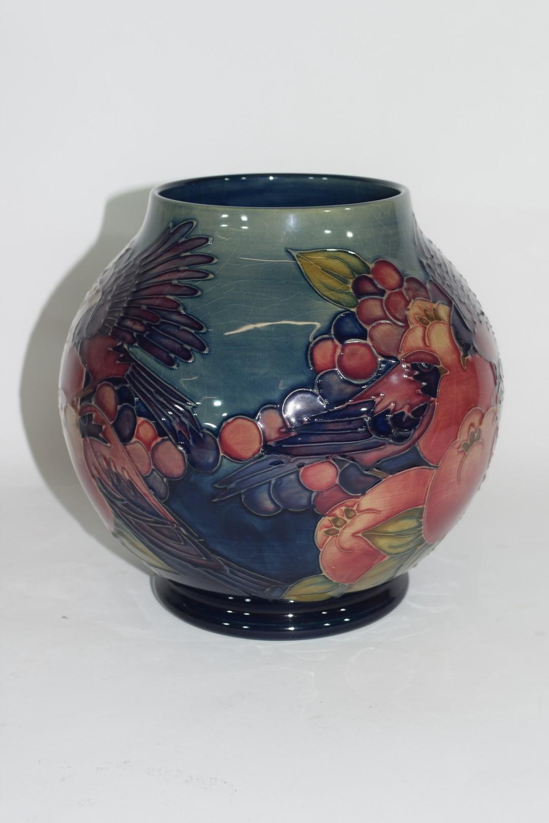 Modern Moorcroft vase - Image 2 of 7