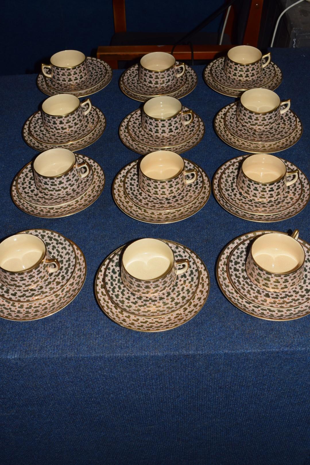 Twelve piece Satsuma tea set - Image 6 of 7