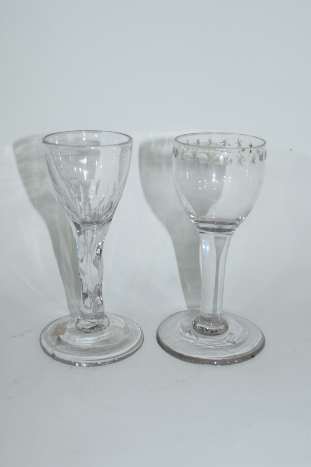 Two 18th century glasses - Image 3 of 6