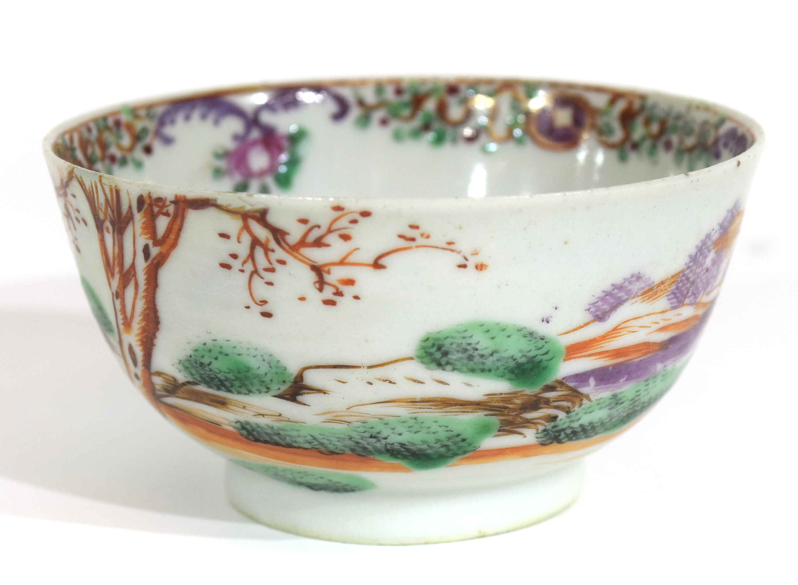 Small Chinese bowl, 18th century - Image 7 of 13
