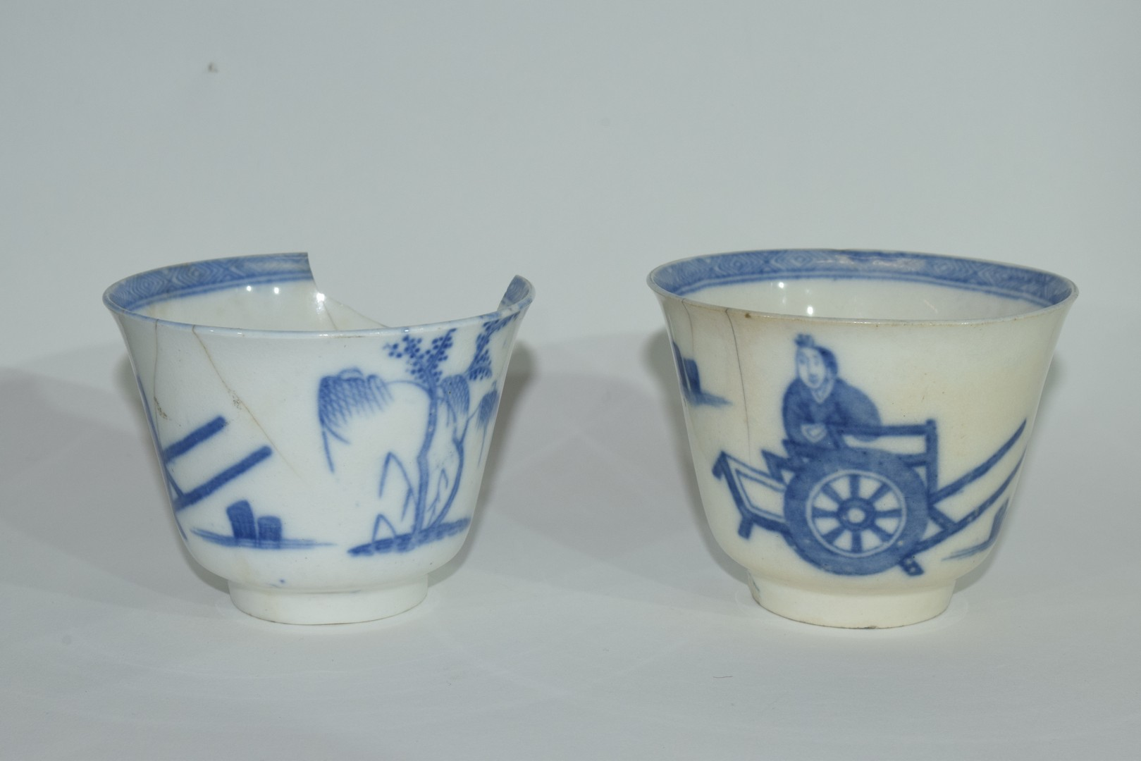 Group of Chinese export porcelain plates - Image 5 of 15