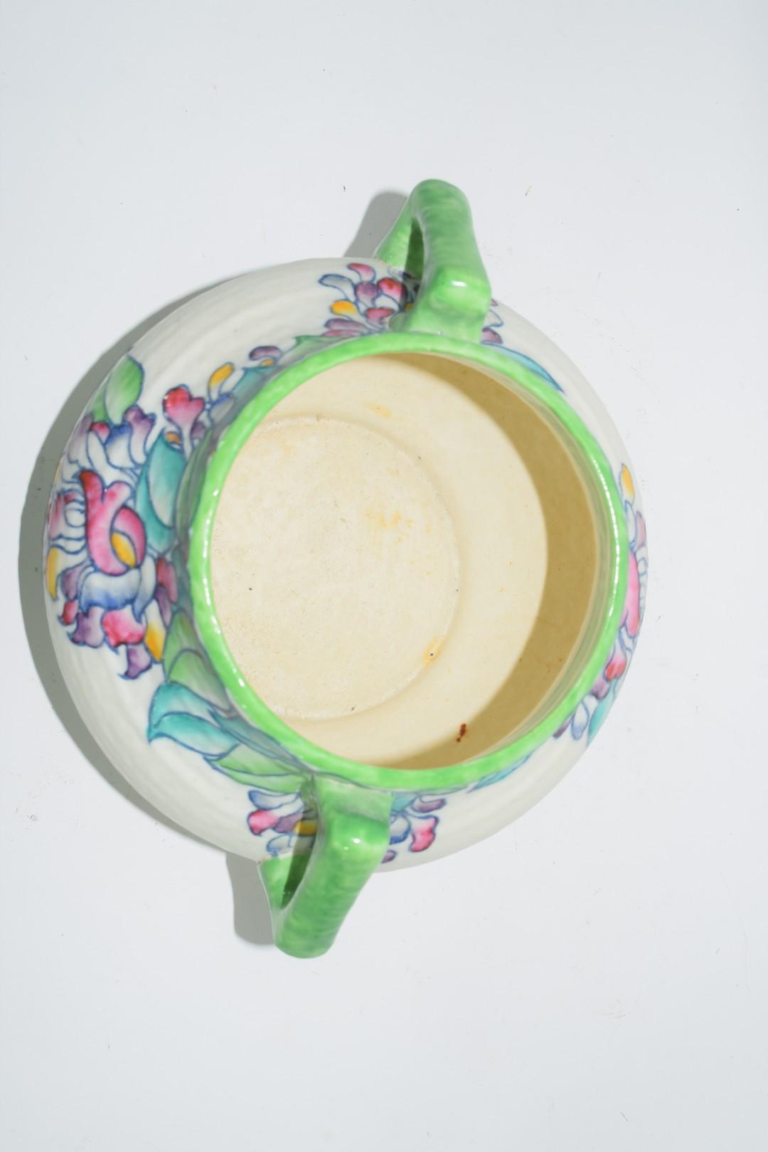 Charlotte Rhead vase pattern no 4954 - Image 5 of 6