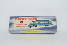 Dinky Pullmore car transporter No 982 and loading ramp, (994)