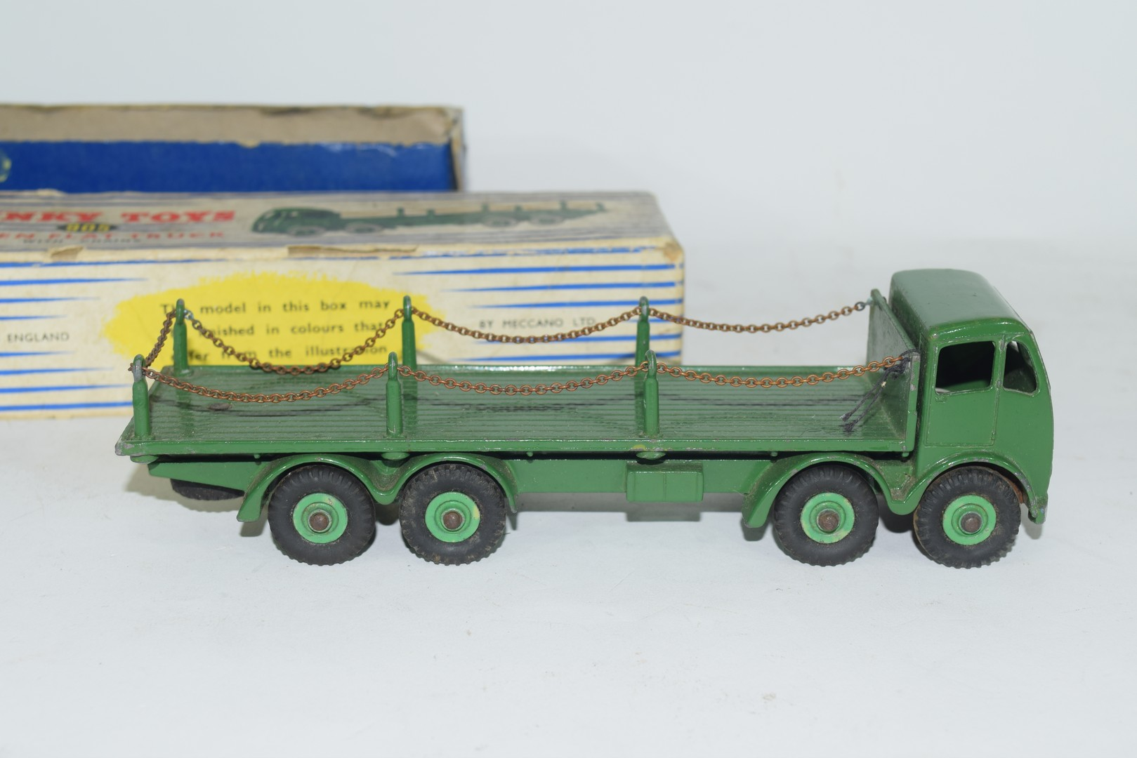 Dinky Supertoys Foden flat truck with chains, No 905 - Image 2 of 5