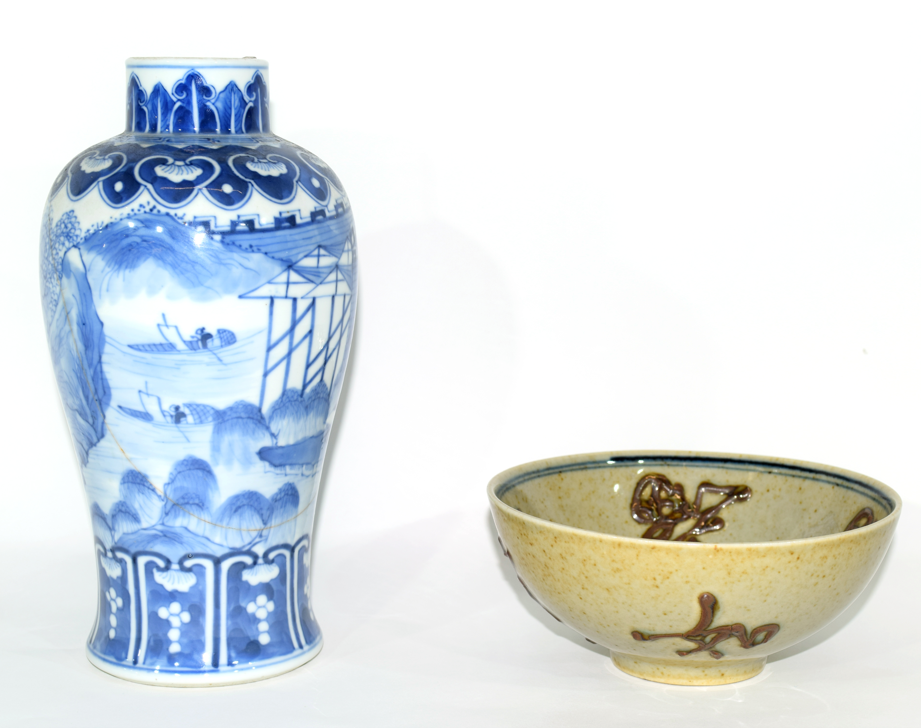 19th century Chinese porcelain bowl - Image 2 of 17