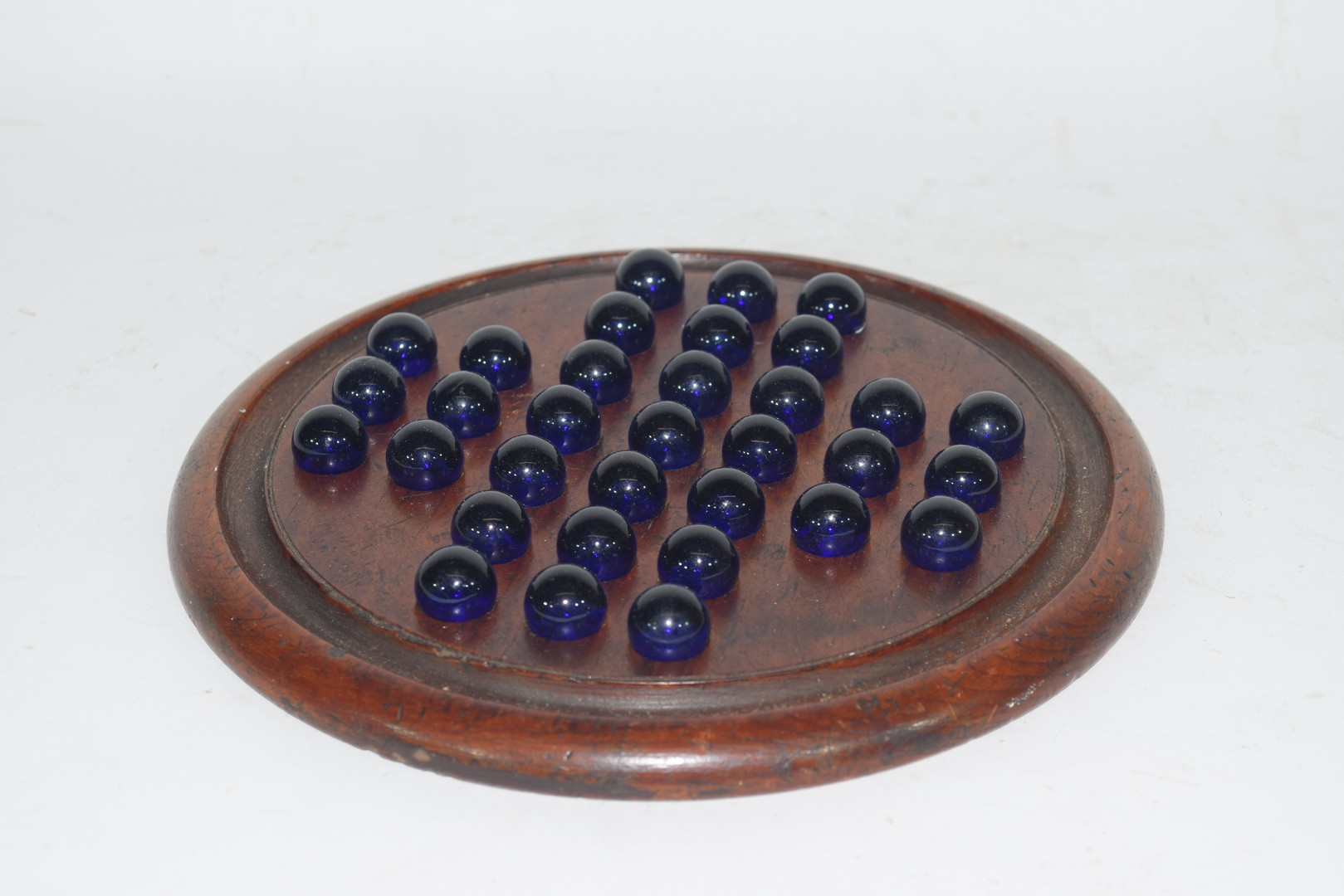 Solitaire Board & Marbles