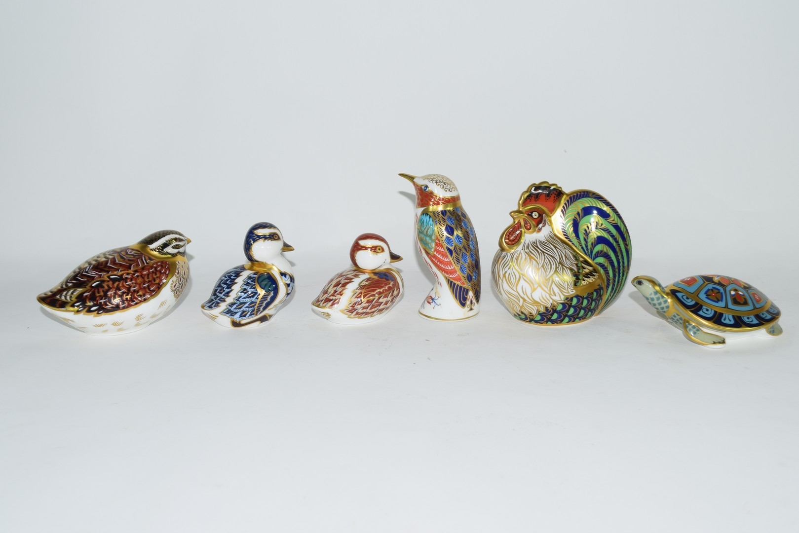 Group of Royal Crown Derby paperweights - Image 2 of 8