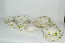 Quantity of Wedgwood dinner wares in Art Deco style