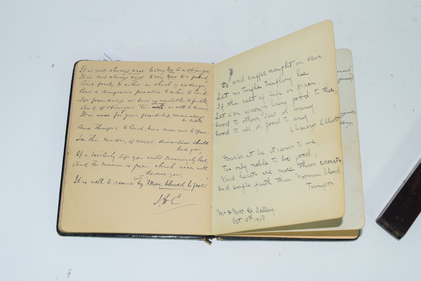 Early 20th century autograph book - Image 2 of 8