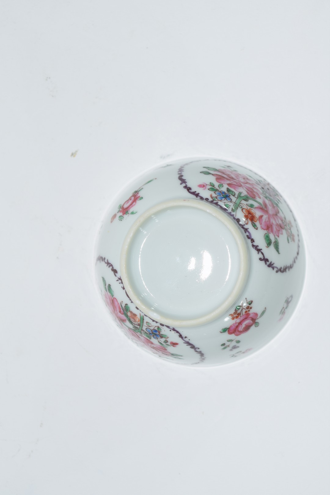 Continental porcelain cup and saucer decorated in Meissen style - Image 6 of 6