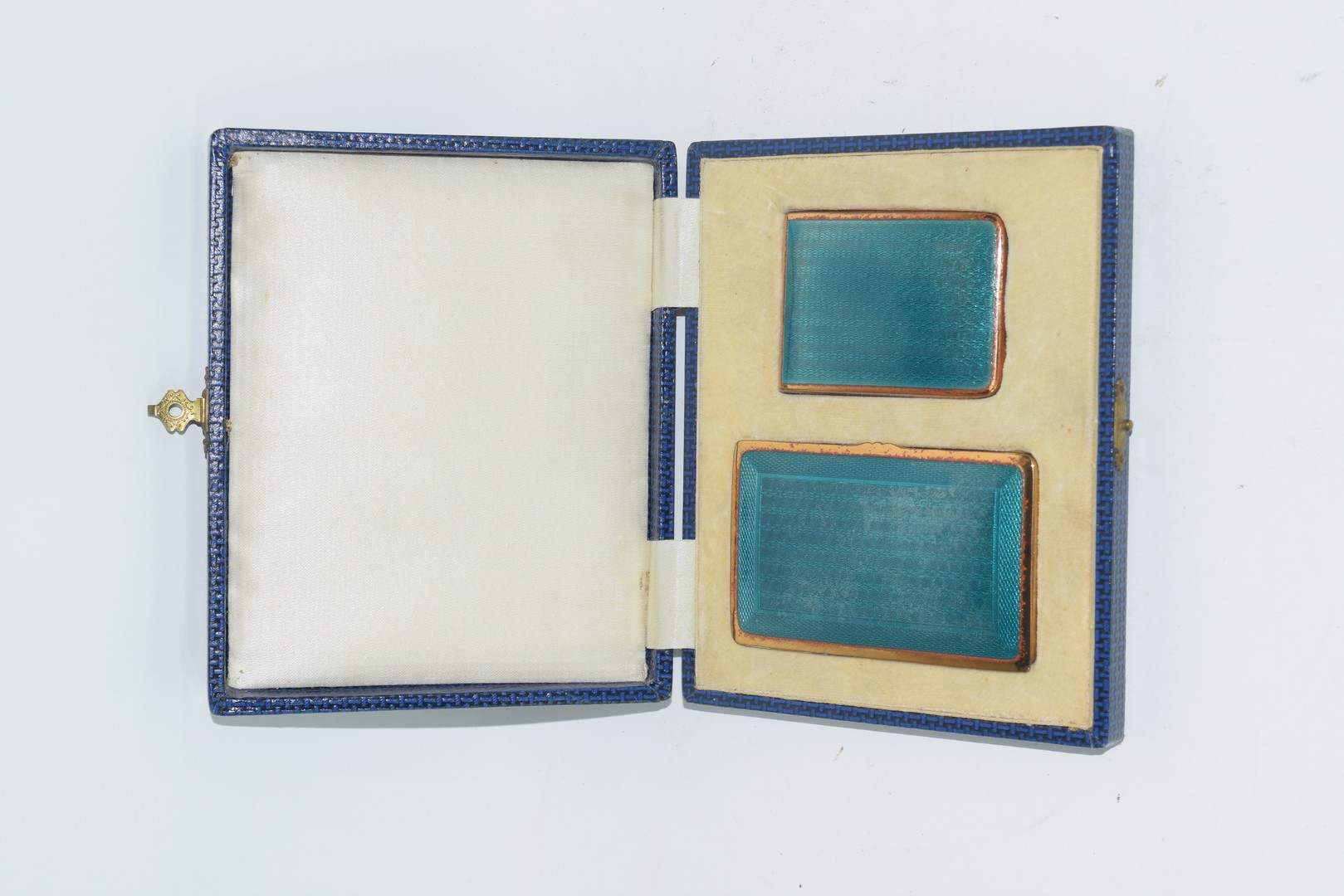 Boxed set of two gilt boxes - Image 2 of 4